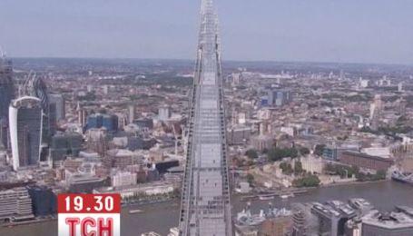 """Шесть активистов """"Гринпис"""" пытаются залезть на небоскреб в Лондоне"""