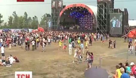В Днепропетровске проходит рок-фестиваль The best city