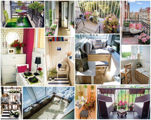9 способов сделать балкон привлекательным