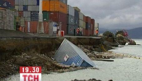 В Новой Зеландии произошло 9-балльное землетрясение
