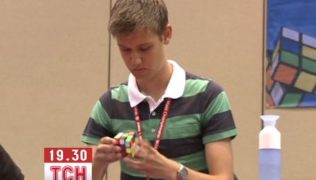 Чемпіону знадобилось 7 секун, щоб скласти кубика Рубика