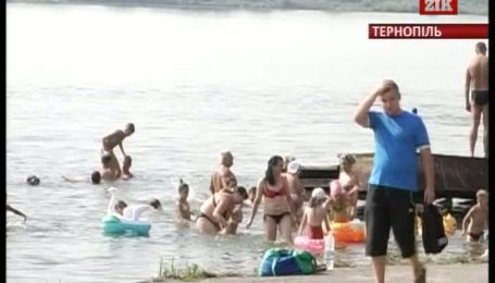 Западную Украину атаковала рекордная жара