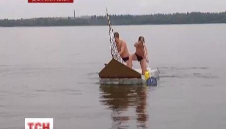 У Дніпропетровську пройшли змагання саморобних суден
