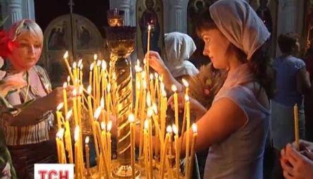 В Украине начался Успенской пост