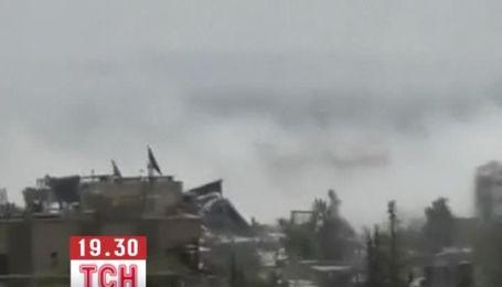 Випадкові свідки відзняли кадри хімічної атаки в Сирії