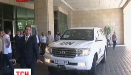 ООН просить Сирію впустити у країну експертів