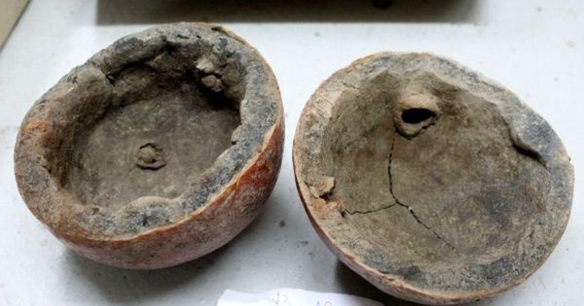 Археологи нашли в россии уникальный средневековый шар алхими.