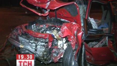 В Бердичеве произошло тройное ДТП