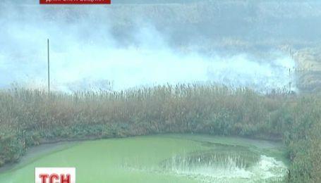 Тысячи людей задыхаются от опасного дыма под Днепропетровском