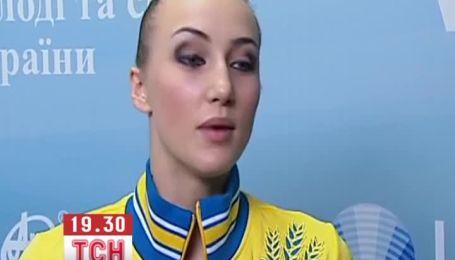 Украинская гимнастка спутала гимны из-за эмоций