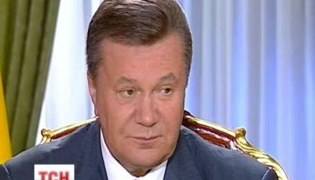"""Янукович прокомментировал """"сложную"""" ситуацию с Россией"""