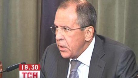 Лавров переконаний, що хімічна атака в Сирії була зрежисована