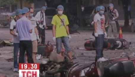 В Китае возле начальной школы прогремел мощный взрыв