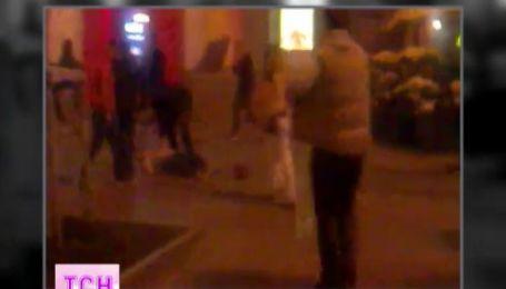 В Киеве английских болельщиков с ранениями доставили в больницу