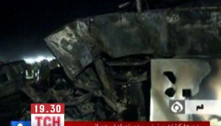 44 человека погибли при столкновении двух пассажирских автобусов в Иране