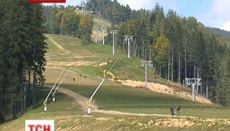 Лыжный сезон - 2013 в Карпатах начнется уже в середине ноября