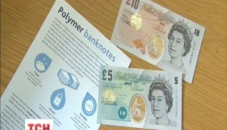 В Великобритании появятся пластиковые банкноты