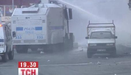 Протестувальників в Туреччині розганяли сльозогінним газом та пластиковими кулями