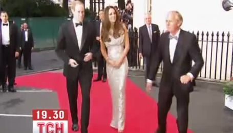 Герцогиня Кейт на першому після пологів прийомі вразила всіх фігурою