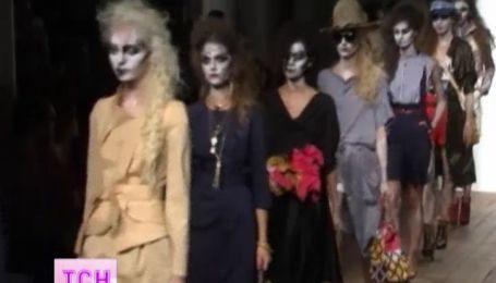 У Лондоні дизайнери представили весь спектр кольорів у вбранні
