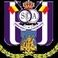 Эмблема ФК «Андерлехт Брюссель»