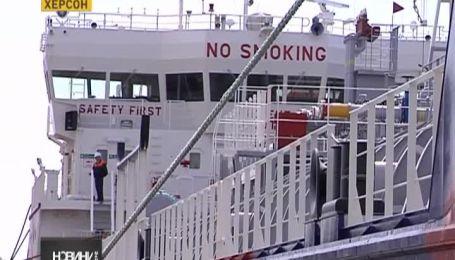 У Херсоні випустили суперсучасний танкер