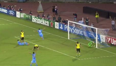 Наполи - Боруссия - 1:0. Видео гола Игуаина