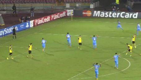 Наполи - Боруссия Дортмунд - 2:0. Видео гола Инсинье