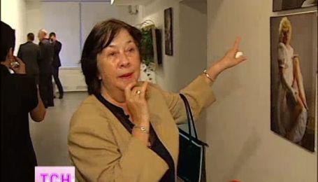 Вдова Богдана Ступки вперше з'явилась на людях