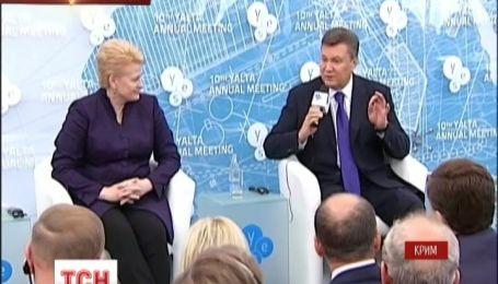 Янукович перед парламентарями з Європи підтвердив курс України на євроінтеграцію