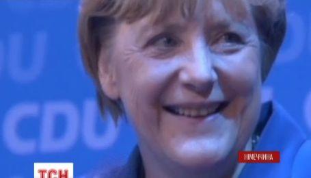 Партия Меркель побила двадцатилетний рекорд парламентских выборов