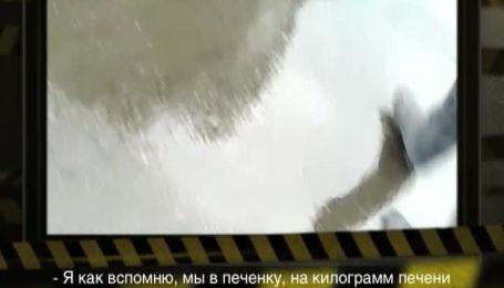 """Доверчивым украинцам """"впаривают"""" протухшее мясо в стиральном порошке и наколотые йодом сосиски"""