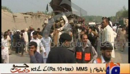 Щонайменше 15 людей загинули від вибуху пасажирського автобуса в Пакистані