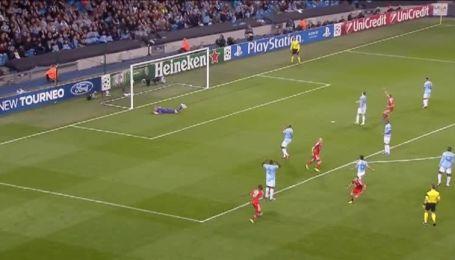Манчестер Сити - Бавария - 0:1. Видео гола Рибери