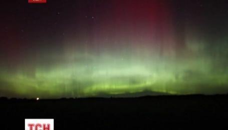Небо над США украсило северное сияние