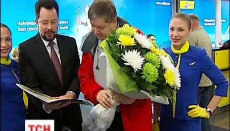 20-миллионного пассажира сегодня перевезли Международные авиалинии Украины