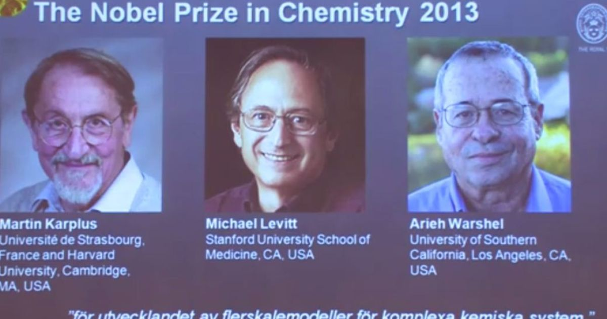 the chemistry nobel prize 2013 essay