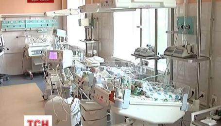 В Донецке младенец впал в кому сразу после рождения