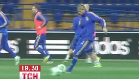 Национальная сборная Украины подготовилась к бою за чемпионат мира 2014 года