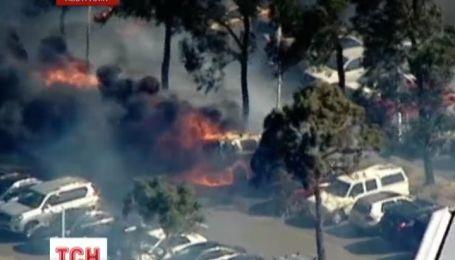 У Австралії потужна пожежа знищила олімпійський комплекс