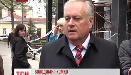 В Ровно против бизнеса в бывшей тюрьме НКВД протестует мэр