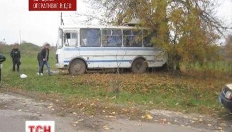 На Сумщине разбился рейсовый автобус