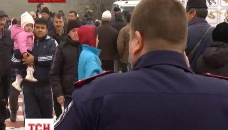 В Симферополе протест жителей прилегающего поселка парализовал движение