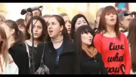 Во Львове был установлен рекорд Украины по хоровому пению