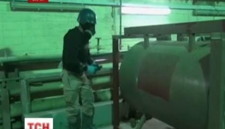 Сирія виконала перший з чотирьох етапів роззброєння