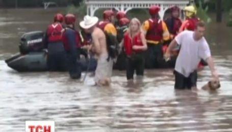 Техас страдает от наводнений