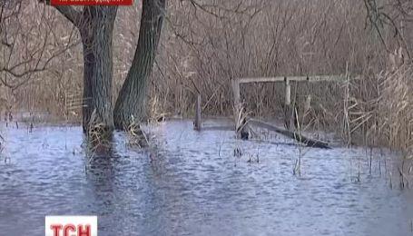 Два села на Кировоградщине затопила река Большая Высь