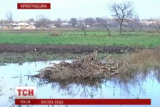 На Кировоградщину неожиданно пришла большая вода