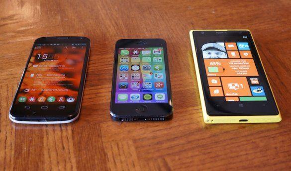 Nokia, iPhone смартфон