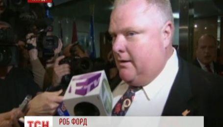 Мэр Торонто признался, что употреблял наркотики
